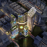 ALPHA KING D2 THE PROJECT CROSS ROAD ARCHITECTURAL DESIGN